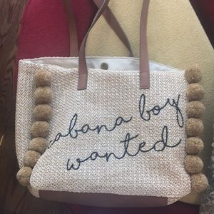 9726e608d39f Bags - Cabana boy wanted straw bag